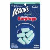 Mack's Original Soft Foam Plugs - 3 Pair Blister Pack
